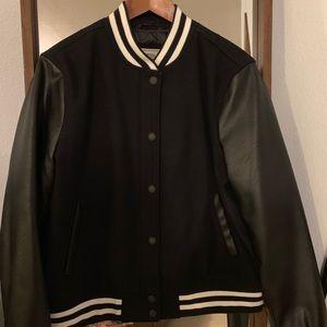 Levi's Black Letterman/Varsity Jacket
